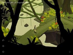 Lara Croft GO Interface