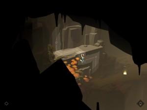 Lara Croft Go Wall Climb