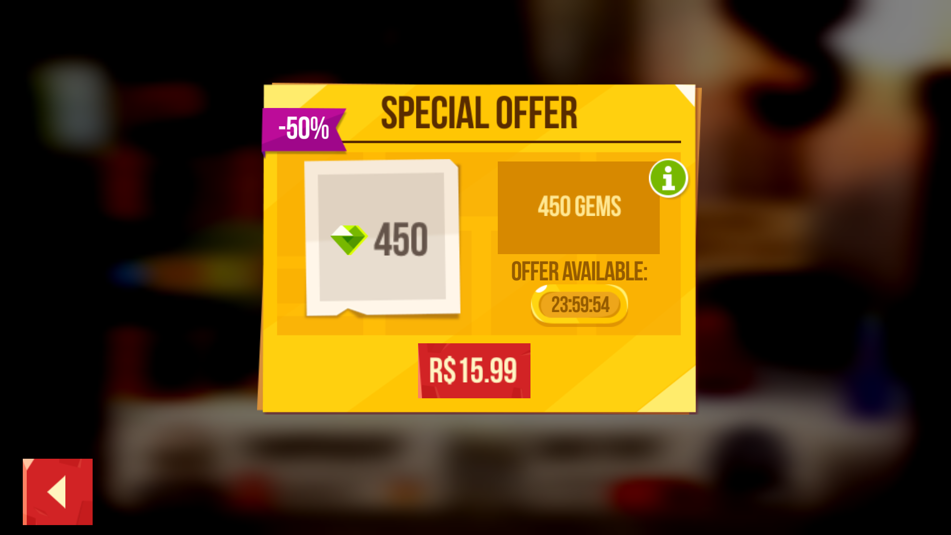 Special Offer Prompt
