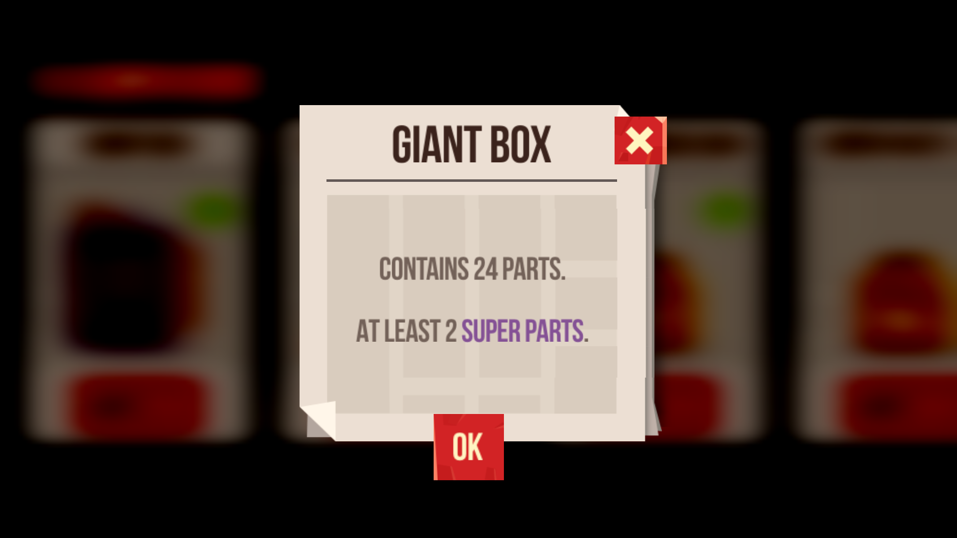 Info for Box Contents