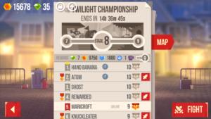 League Progression